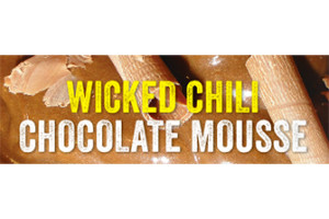 Wicked Chili Chocolate Mousse