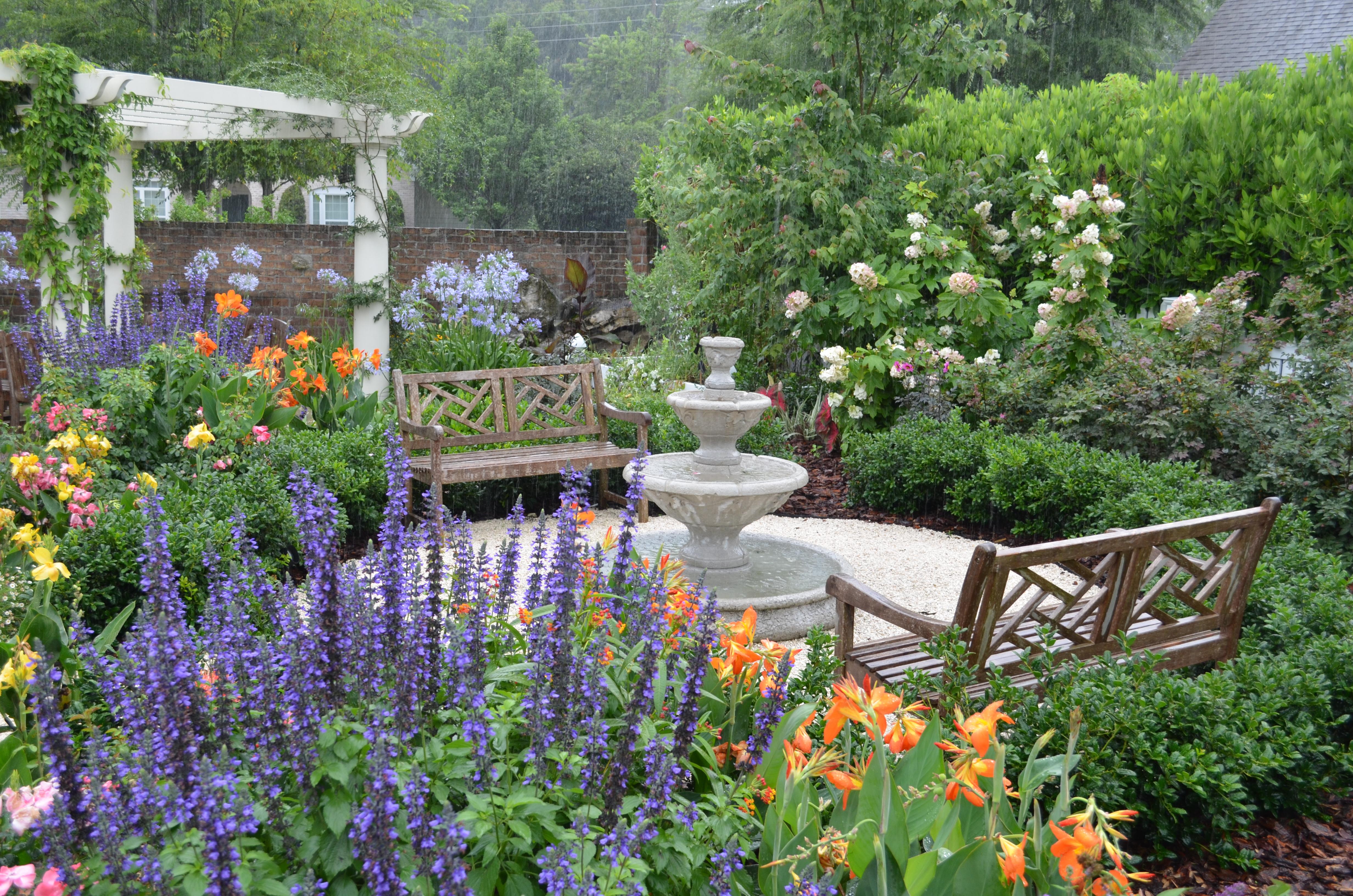 Hummingbird garden layout fasci garden - Butterfly and hummingbird garden designs ...