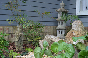 The Serenity of an Asian Garden in a Gainesville Home