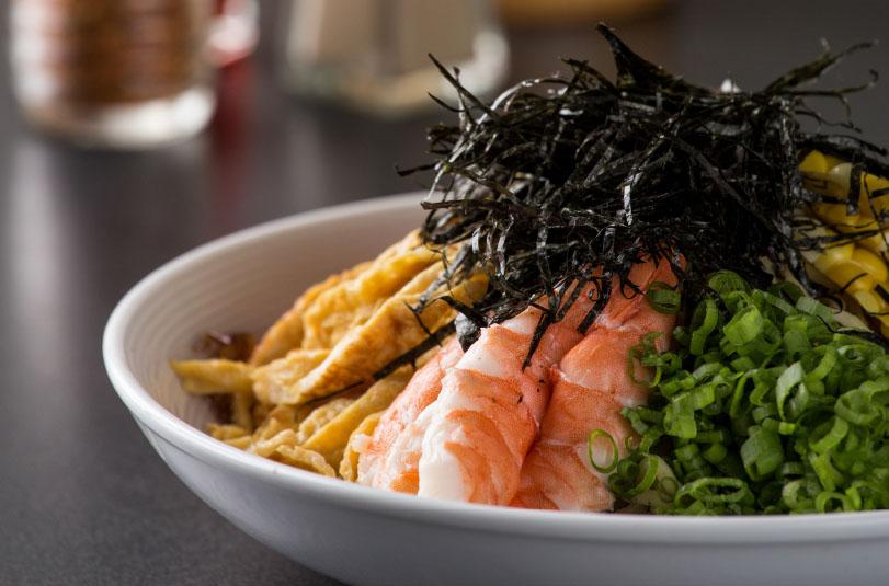 Cook like an iron chef hiyashi chuka cold ramen home for Asian cuisine grimes